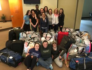 Swazi17 Team all packed up with 29+ bags!